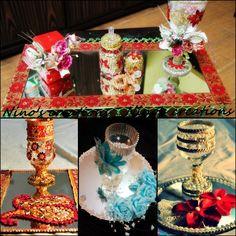 doodh pilai glass decoration