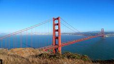Die Golden Gate Bridge in San Francisco - Immer wieder eine Top-Attraktion auf unterschiedlichen Rundreisen an der Westküste der USA. #usamietwagentips #usa #sanfrancisco #kalifornien [Foto: Pixabay]