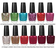 Muppets OPI- warm and fozzie is my favourite!