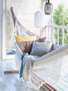 Relaxen in de tuin