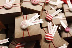 Adorable favor boxes