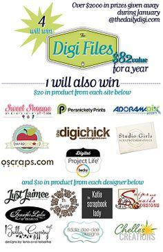 Daily Digi Giveaway
