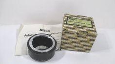 Vintage Nikon Auto Extension Ring PK11 12 by UrbanRenewalDesigns, $65.00