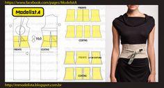 ModelistA Enjoyed viewing the many styles of patterns shown on this website , Translates easily to English, thank you Lulu! Diy Clothing, Clothing Patterns, Dress Patterns, Sewing Patterns, Look Fashion, Diy Fashion, Ideias Fashion, Cinto Obi, Robe Diy
