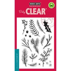 Hero Arts Holiday Pine Branches CL889