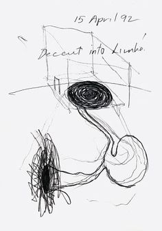 Anish Kapoor - Descent into Limbo - The official website of Anish Kapoor Anish Kapoor, Plane Design, Art For Art Sake, Stick Figures, Line Drawing, Printmaking, Surrealism, Art Drawings, Mark Making