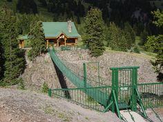 Alpine Loop, Colorado ~ Thoreau's Cabin, (near Lake City, Colorado)