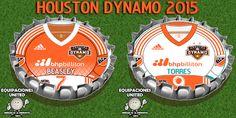 Sector Soccer Houston Dynamos Buttons USA football Soccer
