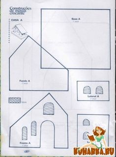 White Gingerbread House, Gingerbread House Patterns, Gingerbread House Template, Cool Gingerbread Houses, Gingerbread Crafts, Gingerbread Village, Gingerbread Cookies, Cardboard Box Houses, Clay Houses