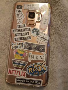 Tumblr Phone Case, Tumblr Iphone, Diy Phone Case, Cell Phone Cases, Iphone Cases, Aesthetic Phone Case, Sticker Bomb, Cute Cases, Mobile Cases