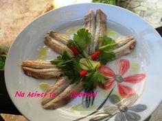 Να λείπει το ... βύσσινο!: Γαύρος Μαρινάτος Appetisers, Asparagus, Meat, Chicken, Vegetables, Food, Studs, Essen, Vegetable Recipes