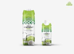 Green Coco on Packaging of the World - Creative Package Design Gallery