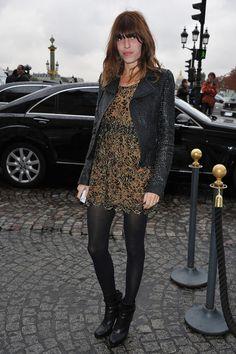 Lou Doillon: Balenciaga - Arrivals Paris Fashion Week Spring/Summer 2011