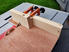 Finger joint jig Box Joint Jig, Box Joints, Metal Chop Saw, Scrap Material, Finger Joint, How To Make Box, Drill Press, Metal Bar, Metal Pins