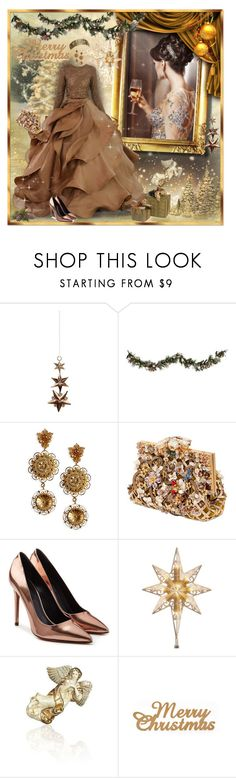 """""""for  NATALEGO"""" by trendstar-212 ❤ liked on Polyvore featuring Shishi, Improvements, Stephane Rolland, Dolce&Gabbana, Alexander Wang, National Tree Company and Jay Strongwater"""