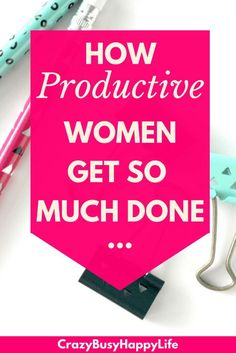Do you ever wonder how some women get so much done? How are they so productive? Is there some secret time management convention you weren't invited to? Read on to learn some time management tricks common among highly productive women. Learn how to be more productive and decrease your stress in the process.