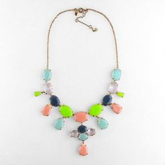 a touch of neon among pastels. great mother's day gift!