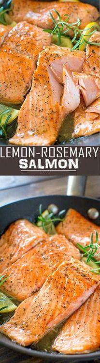 Lemon-Rosemary Salmon