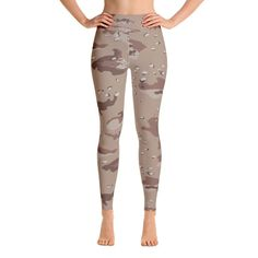 Desert Camo Leggings  #leggings #activewear #gymfashion #cuteleggings #svetasstore
