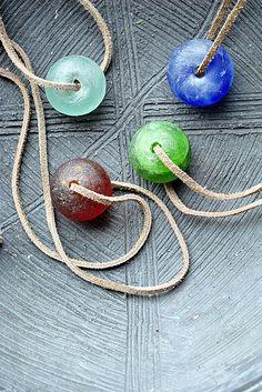 glass beads handmade #beads