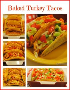 Baked Turkey Tacos a