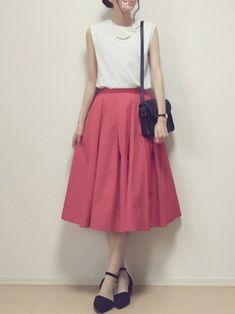 MAYUKOさんの「フレアスカート(THE SHINZONE)」を使ったコーディネート