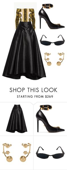 """Kennae prom"" by ijandco on Polyvore featuring Eliza J and Versace"