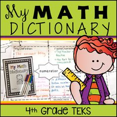 My Math Dictionary and Teacher Tools! This resource contains tools needed to have students create their own math dictionary. Use all year, adding new pages as vocabulary is explored. Teacher Tools, Math Teacher, Teaching Math, Teaching Ideas, Teacher Checklist, Teacher Resources, Classroom Resources, Math Word Walls, Math Vocabulary