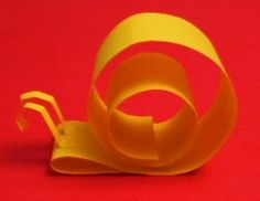 Snail Paper Craft Activity  Could we move these by blowing on them with a straw for races?