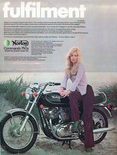 Norton Commando ads