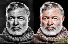 Ernest Miller Hemingway by Yousuf Karsh