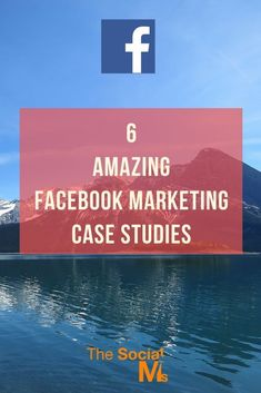 Facebook is not easy to master for social media marketing success. Here are 6 Facebook marketing case studies for you to learn from and get inspiration social media marketing tips, facebook marketing tips #facebookmarketing