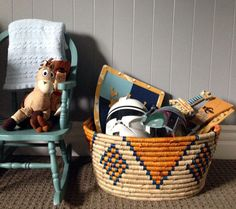 Why I Love Baskets the Most for Toy Organization #DisneyBaby