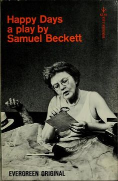 Happy Days by Samuel Beckett. Grove Press, 1961, first edition. Cover by Roy Kuhlman. www.roykuhlman.com