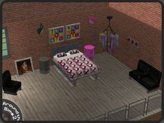 Around the Sims 2 | Objects | Bedroom | Indus