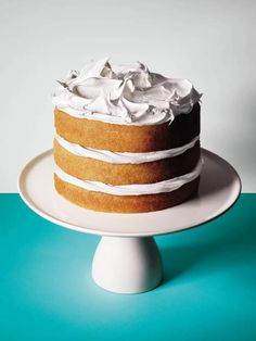 Beautiful cakes are much more than expertly slicked buttercream frosting and piped rosettes. Here are seven sharp tips, from nuts to beans, from the Bon Appétit test kitchen team.