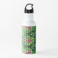 'abstract turtle ' Water Bottle by Turtle, Bottles, Water Bottle, Art Prints, Mugs, Abstract, Printed, Awesome, Shop