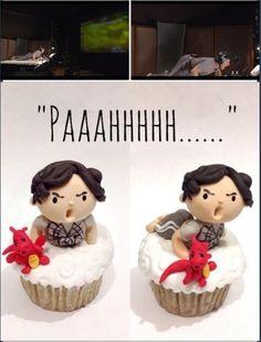I love her Cumbercakes! http://sodelightfully.tumblr.com/post/64784451143/cumbercupcakes-smaugbatch