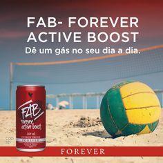 Produtos Forever: Acerola, Cranberry, Açaí e Guaraná. Só o FAB ofere...