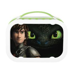 """""""How to Train Your Dragon"""" Hiccup  Toothless yubo Lunchbox...because homeschool kids need cool lunchboxes too!"""