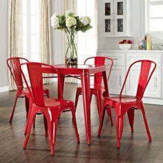 Crosley Furniture 5-piece Amelia Cafe Dining Set