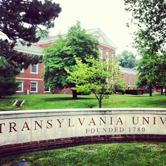 Transylvania University - most likely spot for Kevin to be attending and playing soccer.