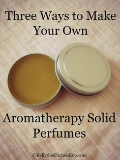 to Make Perfume: DIY Aromatherapy Solid Perfume Did you know that synthetic perfume is the new second hand smoke? Learn how to make perfume at home!Did you know that synthetic perfume is the new second hand smoke? Learn how to make perfume at home! Perfume Hermes, Perfume Diesel, Solid Perfume, Essential Oil Perfume, Essential Oils, Handmade Soaps, Homemade Beauty Products, Organic Beauty, Soaps
