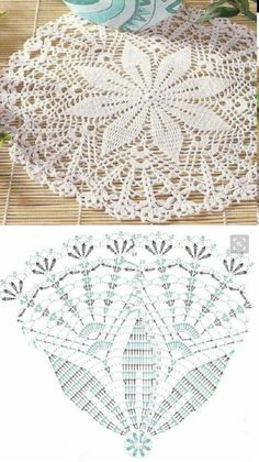 Afbeeldingsresultaat voor cortina crochet con circulos