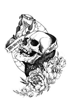 For only 5 lucyfiller will draw for you tattoo sketches Hello everyone my For only 5 lucyfiller will draw for you tattoo sketches Hello everyone my Netti Skull For only nbsp hellip Sketch Tattoo Design, Skull Tattoo Design, Tattoo Sketches, Memento Mori, Momento Mori Tattoo, Illustration Simple, Skull Tattoo Flowers, Zealand Tattoo, Death Tattoo