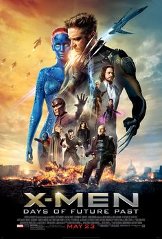 "X-Men: Days of Future Past is a 2014 superhero film based on the fictional X-Men characters that appear in Marvel Comics. Directed by Bryan Singer, it is the seventh installment of the X-Men film series and acts as a sequel to both 2006's X-Men: The Last Stand and 2011's X-Men: First Class. The story, inspired by the 1981 Uncanny X-Men storyline ""Days of Future Past"" produced by Chris Claremont and John Byrne. http://en.wikipedia.org/wiki/X-Men:_Days_of_Future_Past"