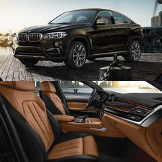 The 2017 BMW X6 -- fearless design & a beautifully designed cabin. shop.ggbailey.com