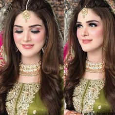 Inbox us for your bridal makeup, dress designing, photography inquiries, shoutou. Inbox us for you Pakistani Bride Hairstyle, Bridal Hairstyle Indian Wedding, Bridal Hair Buns, Bridal Hairdo, Indian Bridal Hairstyles, Hair Wedding, Pakistani Engagement Hairstyles, Pakistani Bridal Hair, Pakistani Mehndi Dress