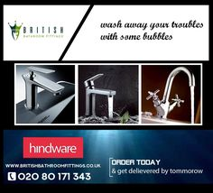 Huge range of high quality bathroom and kitchen taps including designer styled basin sets, shower mixers and bath spouts. Delivery all around UK