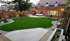 modern garden designs uk - Google Search